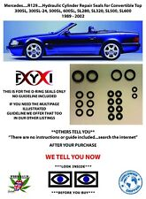 Mercedes SL500 SL320 500SL Convertible Top Hydraulic Cylinder Repair Seals..R129