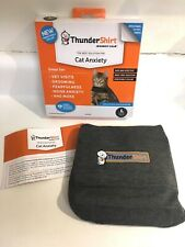 ThunderShirt for Large (Over 13 Pounds) Cats (Solid Gray) #1585 NEW IN BOX