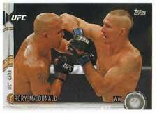 2015 Topps UFC Chronicles #95 Rory MacDonald