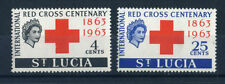Red Cross British Colonies & Territories Postage Stamps