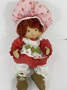 Marie Osmond Strawberry Shortcake Doll Full Size Sitting