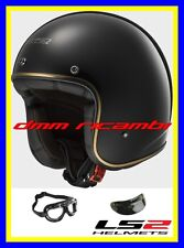 Casco Ls2 Of583 Bobber Solid Black Tg. XL