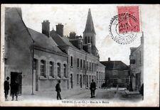 VINEUIL (41) FACTEUR au BUREAU de TABAC animé en 1904