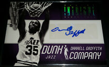 Darrell Griffith 2012-13 Intrigue DUNK COMPANY AUTOGRAPHS GOLD Card (#'d 07/10)