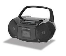 Portable CD Cassette Boombox Digital AM FM Radio Player TT-410