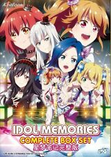 DVD Japan Anime IDOL MEMORIES Complete Series (1-12) English Subtitle