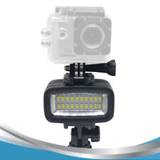 20 Underwater 5500K LED Video Light 40M 130ft Diving Gopro Lighting Fill in Lamp