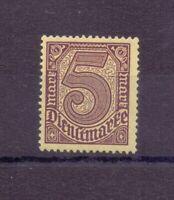 Dt. Reich Dienstmarken 1920 - MiNr. D 33 b ** geprüft - Michel 40,00 € (009)