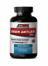Saw Palmetto - Deer Antler Extract Plus 550mg -  Women Stamina Ultimate Pills 1B