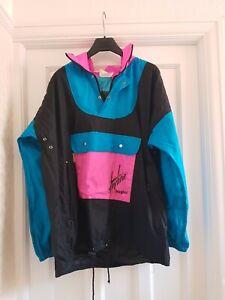 """Hayline By Hayler Vintage Wetterfest Anorak Jacket 52"""" Chest 80's"""