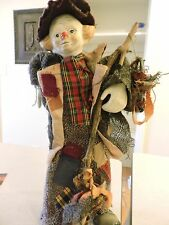 "16"" Vintage Porcelain Clown Doll (Figurine)"