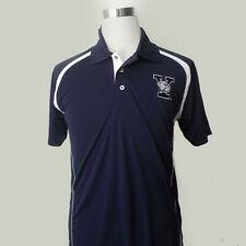 Yale University Bulldogs Men Polo Shirt Size XL Navy Blue by Champion Elite