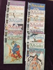 Oh My Goddess!  Comic Book collection, 17 ungraded comics