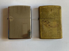 Lote De Dos Mecheros Vintage ZIPPO LIMITED EDITION MADE IN U.S.A