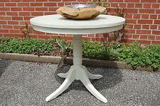 Hochwertiger Landhaus Tisch rund 80cm weiß lackiert Top Qualität kleiner Preis !