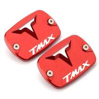 2 x Cache de maitre cylindre logo Pour Yamaha T-Max 500 TMax 530