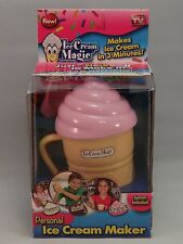 New Ice Cream Magic Personal Ice Cream Maker Strawberry As Seen On TV