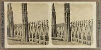 Italia Milan Cattedrale Dôme Dettagli, Foto Stereo Vintage Analogica PL60OYL2n2