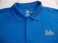 fab5d1cd0 Adidas UCLA Bruins Athletic Golf Polo Shirt Blue Short Sleeve Mens Size XL