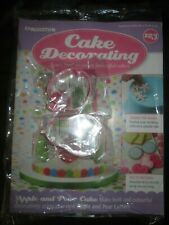 Deagostini Cake Decorating Magazine ISSUE 123 APPLE & PEAR BISCUIT ICING CUTTERS