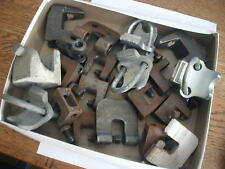 New listing 20 odd lot beam clamps Galvnized and Iron used nr