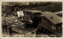Paddock Wood. Train Smash May 5th 1919 by Allwork, Tonbridge.