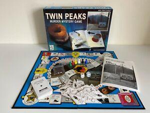Twin Peaks Murder Mystery Board Game 1991 Paul Lamond Games - Complete - VGC