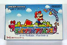 Nintendo GAMEBOY ADVANCE GBA DS SUPER MARIO BROS. 2 USA MADNESS 2001 JAPAN
