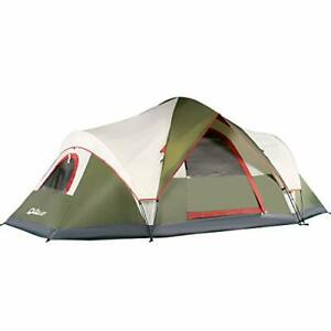 QUICK-UP 6 Person Tents for Family Camping Quick Easy Set Up Instant Pop Up D...
