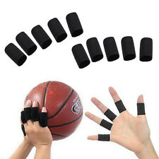 New 10PCS Basketball Stretchy Finger Sleeves Support Wrap Arthritis Brace Band
