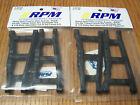 2 RPM 80702 Front Rear Black A-Arms Traxxas 4x4 Slash Stampede Rustler Rally 4wd