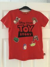 BNWT DISNEY TOY STORY Boys Red Tshirt Age 6-7 Years