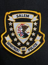 SALEM DEPARTMENT OF  POLICE PATCH--B03