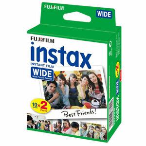 Fuji Instax Wide Film for Fujifilm 300 210 200 100 Instant Cameras