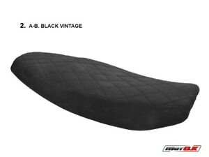 TRIUMPH SPEED TWIN 12002019 Motok Black Vintage Seat cover Anti slip