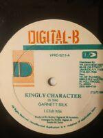 "Garnett Silk - Kingly Character - 12"" Vinyl Single 1993"