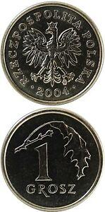 POLEN/POLAND 1 Grosz 2004 AUNC (Y# 276)