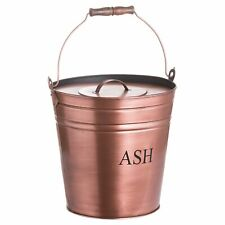 Hill Interiors Ash Bucket in Copper Finish (HI3636)