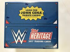 2017 TOPPS WWE HERITAGE RETAIL BOX