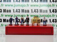 DT98E Voiture réédition HORNBY atlas : coffret 5 figurines Trains quai