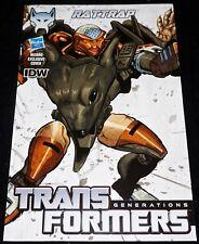 IDW Comics 2014 Transformers DARK CYBERTRON #5 RATTRAP Hasbro Variant NM