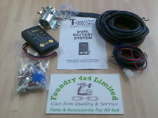 T-Max Dual Battery System / Split Charge System Camper Vans / Motorhomes BA2685