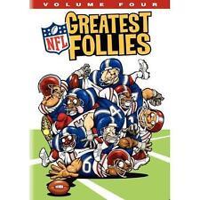 NFL Greatest Follies, Vol. 4, New DVD, ,