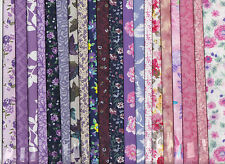 50 Cotton Fabric Squares for Quilting,Crafts,Sewing 6 x 6 inches
