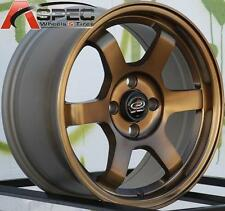 15X7 ROTA GRID WHEELS 4X100 RIMS FITS 4 LUG CIVIC CRX HONDA FIT XB INTEGRA MIATA