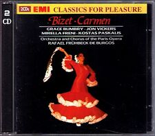 Bizet: Carmen Grace Bumbry Jon Vickers freni Paskalis presto Beck de Burgos EMI 2cd