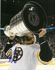 Boston Bruins Milan Lucic Stanley Cup Signed Autographed 8x10 Photo COA