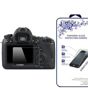 Ballistic 9H Tempered Glass Screen Protector For Canon EOS 6D