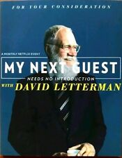 DAVID LETTERMAN MY NEXT GUEST NETFLIX FYC EMMY HOWARD STERN OBAMA CLOONEY
