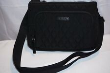NWT VERA BRADLEY LITTLE HIPSTER CROSSBODY BAG IN CLASSIC BLACK FREE SHIPPING
